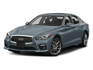 Hagane Blue 2017 INFINITI Q50 Pictures Q50 3.0t Sport AWD photos front view