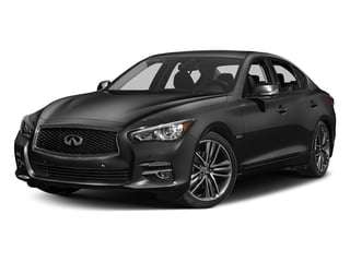 Graphite Shadow 2017 INFINITI Q50 Hybrid Pictures Q50 Hybrid Sedan 4D AWD V6 Hybrid photos front view