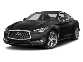 Midnight Black 2017 INFINITI Q60 Pictures Q60 Coupe 2D 3.0T Red Sport photos front view