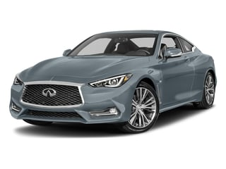 Hagane Blue 2017 INFINITI Q60 Pictures Q60 Coupe 2D 2.0T Premium AWD photos front view