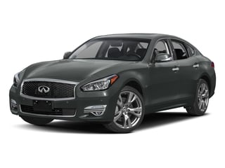 Graphite Shadow 2017 INFINITI Q70 Pictures Q70 Sedan 4D AWD V6 photos front view