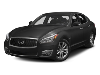 Graphite Shadow 2017 INFINITI Q70 Hybrid Pictures Q70 Hybrid RWD photos front view