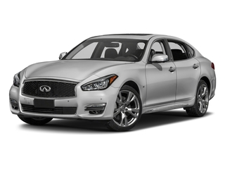 Liquid Platinum 2017 INFINITI Q70L Pictures Q70L 5.6 RWD photos front view