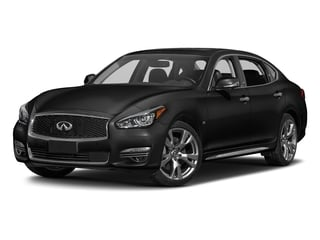 Black Obsidian 2017 INFINITI Q70L Pictures Q70L 5.6 RWD photos front view