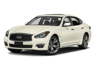Majestic White 2017 INFINITI Q70L Pictures Q70L 5.6 RWD photos front view