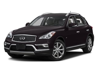 Malbec Black 2017 INFINITI QX50 Pictures QX50 RWD photos front view