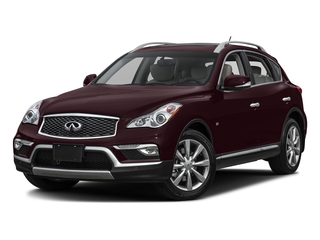 Midnight Garnet 2017 INFINITI QX50 Pictures QX50 RWD photos front view
