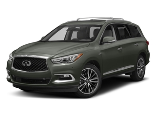 Jade Green 2017 INFINITI QX60 Hybrid Pictures QX60 Hybrid AWD photos front view