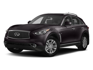 Malbec Black 2017 INFINITI QX70 Pictures QX70 RWD photos front view
