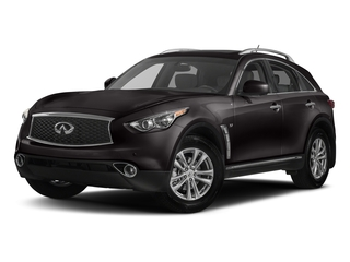 Midnight Mocha 2017 INFINITI QX70 Pictures QX70 RWD photos front view