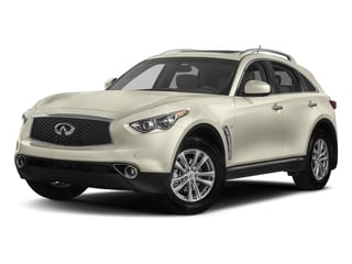 Majestic White 2017 INFINITI QX70 Pictures QX70 RWD photos front view