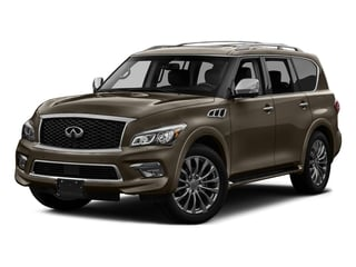 Mocha Almond 2017 INFINITI QX80 Pictures QX80 AWD photos front view