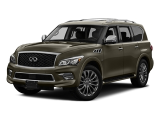 Smoky Quartz 2017 INFINITI QX80 Pictures QX80 AWD photos front view