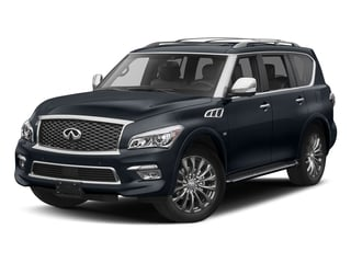 Hermosa Blue 2017 INFINITI QX80 Pictures QX80 Utility 4D Limited AWD V8 photos front view