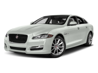 Polaris White 2017 Jaguar XJ Pictures XJ Sedan 4D V8 Supercharged photos front view