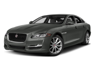 Ammonite Gray Metallic 2017 Jaguar XJ Pictures XJ Sedan 4D R-Sport AWD V6 Supercharged photos front view
