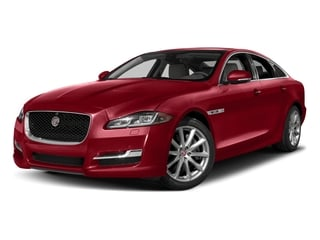Italian Racing Red Metallic 2017 Jaguar XJ Pictures XJ Sedan 4D R-Sport AWD V6 Supercharged photos front view