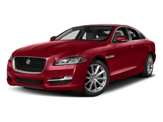 Italian Racing Red Metallic 2017 Jaguar XJ Pictures XJ Sedan 4D V8 Supercharged photos front view