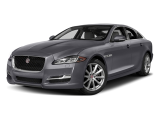 Tempest Gray 2017 Jaguar XJ Pictures XJ Sedan 4D V8 Supercharged photos front view