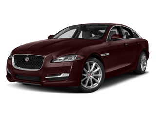 Aurora Red Metallic 2017 Jaguar XJ Pictures XJ Sedan 4D V8 Supercharged photos front view