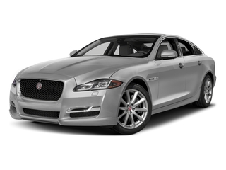 Gallium Silver 2017 Jaguar XJ Pictures XJ Sedan 4D R-Sport AWD V6 Supercharged photos front view