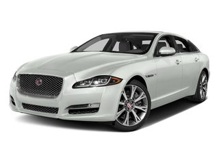 Polaris White 2017 Jaguar XJ Pictures XJ XJL Supercharged RWD photos front view