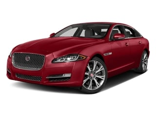 Italian Racing Red Metallic 2017 Jaguar XJ Pictures XJ XJL Supercharged RWD photos front view