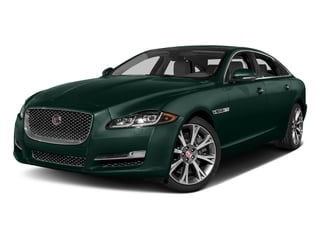 British Racing Green Metallic 2017 Jaguar XJ Pictures XJ XJL Supercharged RWD photos front view