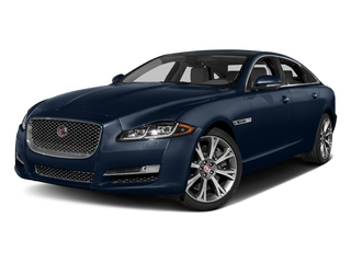 Dark Sapphire Metallic 2017 Jaguar XJ Pictures XJ XJL Supercharged RWD photos front view