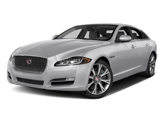 Glacier White Metallic 2017 Jaguar XJ Pictures XJ XJL Supercharged RWD photos front view