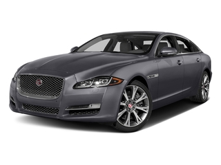 Tempest Gray 2017 Jaguar XJ Pictures XJ XJL Supercharged RWD photos front view