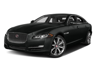 Cosmic Black 2017 Jaguar XJ Pictures XJ XJL Supercharged RWD photos front view