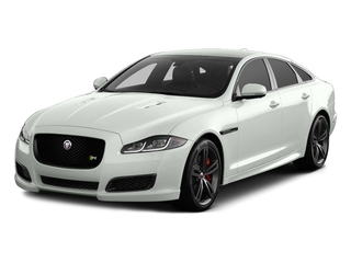Polaris White 2017 Jaguar XJ Pictures XJ Sedan 4D XJR V8 Supercharged photos front view