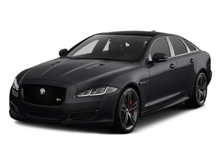 Ebony 2017 Jaguar XJ Pictures XJ Sedan 4D XJR V8 Supercharged photos front view