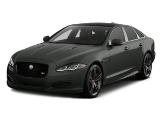 Storm Gray 2017 Jaguar XJ Pictures XJ Sedan 4D XJR V8 Supercharged photos front view