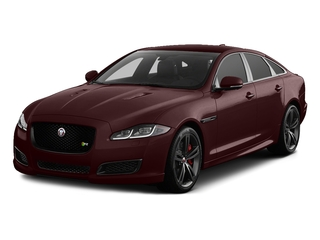 Aurora Red Metallic 2017 Jaguar XJ Pictures XJ Sedan 4D XJR V8 Supercharged photos front view