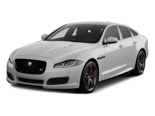 Gallium Silver 2017 Jaguar XJ Pictures XJ Sedan 4D XJR V8 Supercharged photos front view