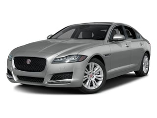 Rhodium Silver Metallic 2017 Jaguar XF Pictures XF Sedan 4D 35t Premium AWD V6 Sprchrd photos front view