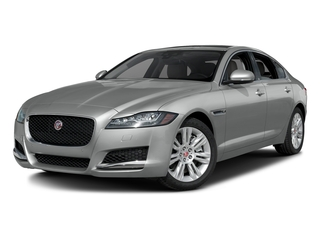 Rhodium Silver Metallic 2017 Jaguar XF Pictures XF Sedan 4D 35t Premium V6 Supercharged photos front view