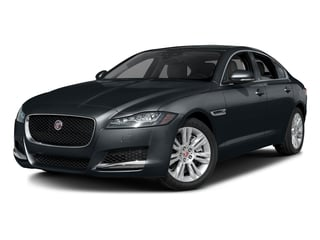 Celestial Black 2017 Jaguar XF Pictures XF Sedan 4D 35t Premium AWD V6 Sprchrd photos front view