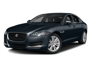 Dark Sapphire Metallic 2017 Jaguar XF Pictures XF Sedan 4D 35t Premium AWD V6 Sprchrd photos front view