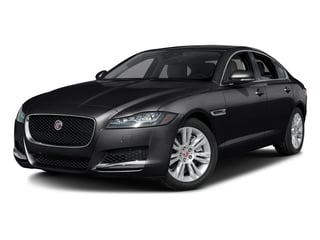 Ebony 2017 Jaguar XF Pictures XF Sedan 4D 35t Premium AWD V6 Sprchrd photos front view