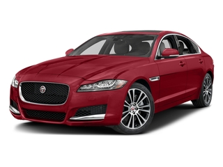 Italian Racing Red Metallic 2017 Jaguar XF Pictures XF 35t Prestige AWD photos front view