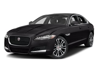 Ultimate Black Metallic 2017 Jaguar XF Pictures XF 35t Prestige AWD photos front view