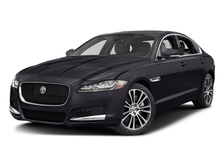 Black Berry 2017 Jaguar XF Pictures XF 35t Prestige AWD photos front view
