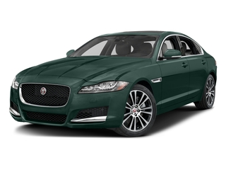 British Racing Green Metallic 2017 Jaguar XF Pictures XF 35t Prestige AWD photos front view