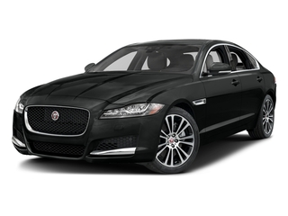 Cosmic Black 2017 Jaguar XF Pictures XF 35t Prestige AWD photos front view
