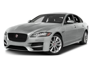 Rhodium Silver Metallic 2017 Jaguar XF Pictures XF Sedan 4D 35t R-Sport V6 Supercharged photos front view