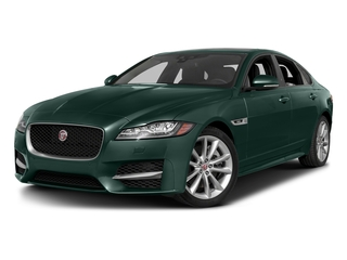 British Racing Green Metallic 2017 Jaguar XF Pictures XF Sedan 4D 35t R-Sport V6 Supercharged photos front view
