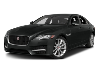 Cosmic Black 2017 Jaguar XF Pictures XF Sedan 4D 35t R-Sport V6 Supercharged photos front view